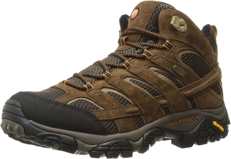 Men's Merrell Moab 2 Mid Waterproof Hiking Boot