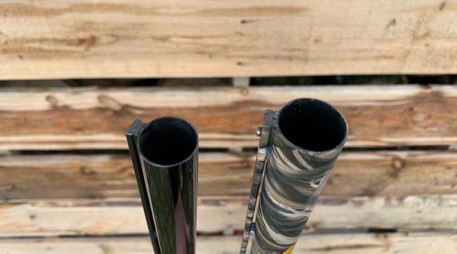 The 10-gauge patterns larger shot better at longer distances than the 12-gauge.