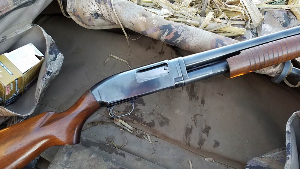 The Model 42 is the .410 version of the Model 12.
