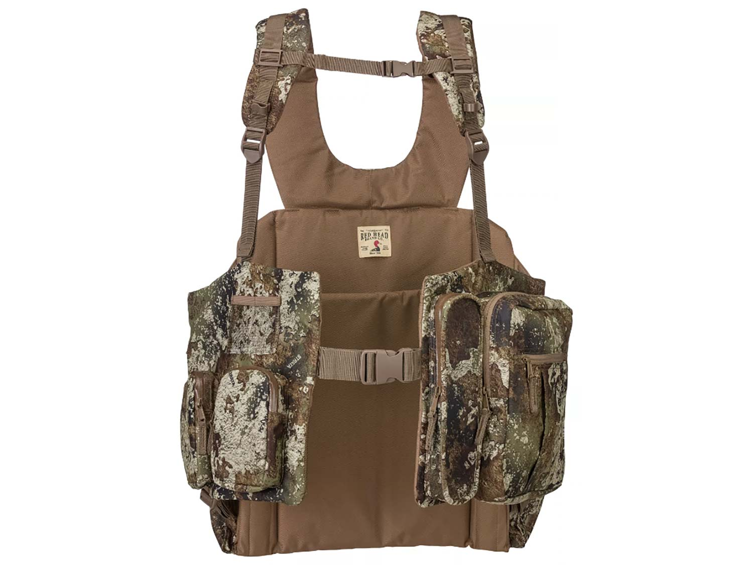RedHead Bucklick Creek Turkey Lounger Vest is one of the best turkey hunting vests.