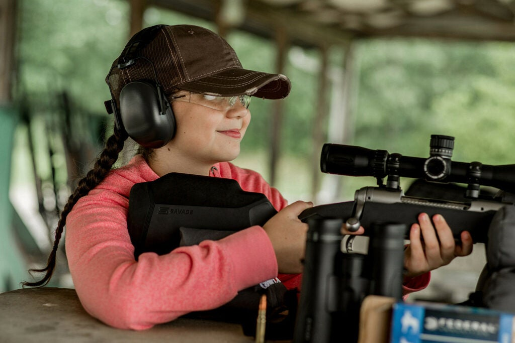 Let your kid dictate the pace when it comes to how much they want to shoot.