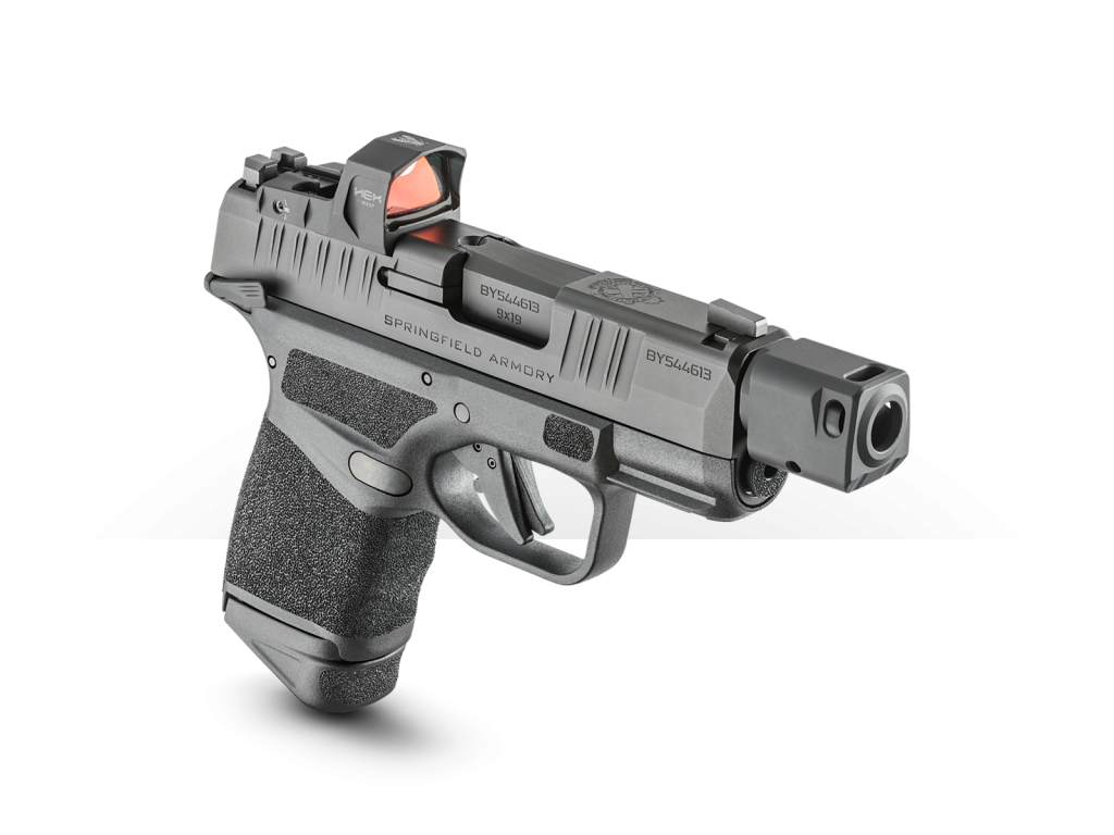 Springfield Armory Hellcat RDP 9mm personal protection handgun, gear tested