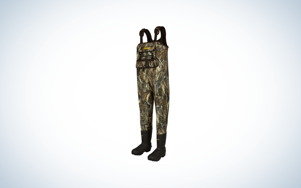 camo chest waders for men