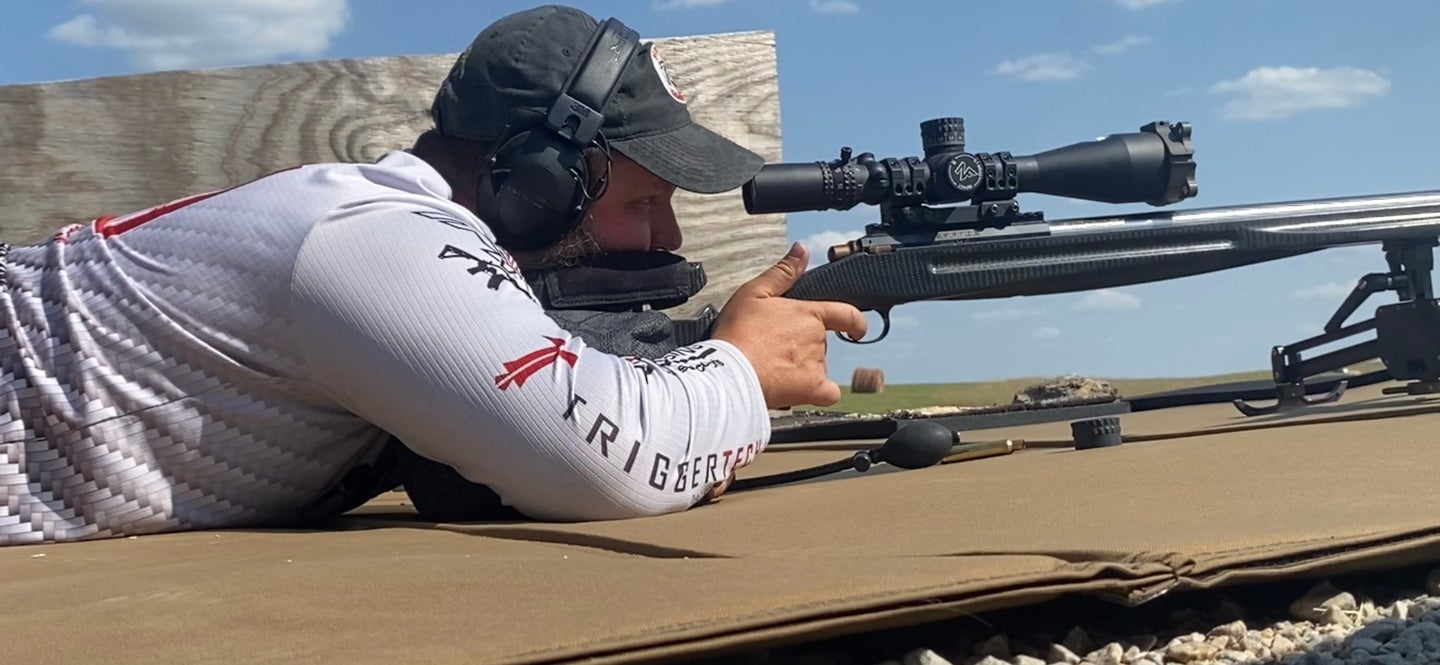 world record long shot by Ryan Cheney with a 33XC cartridge 4,137 yards