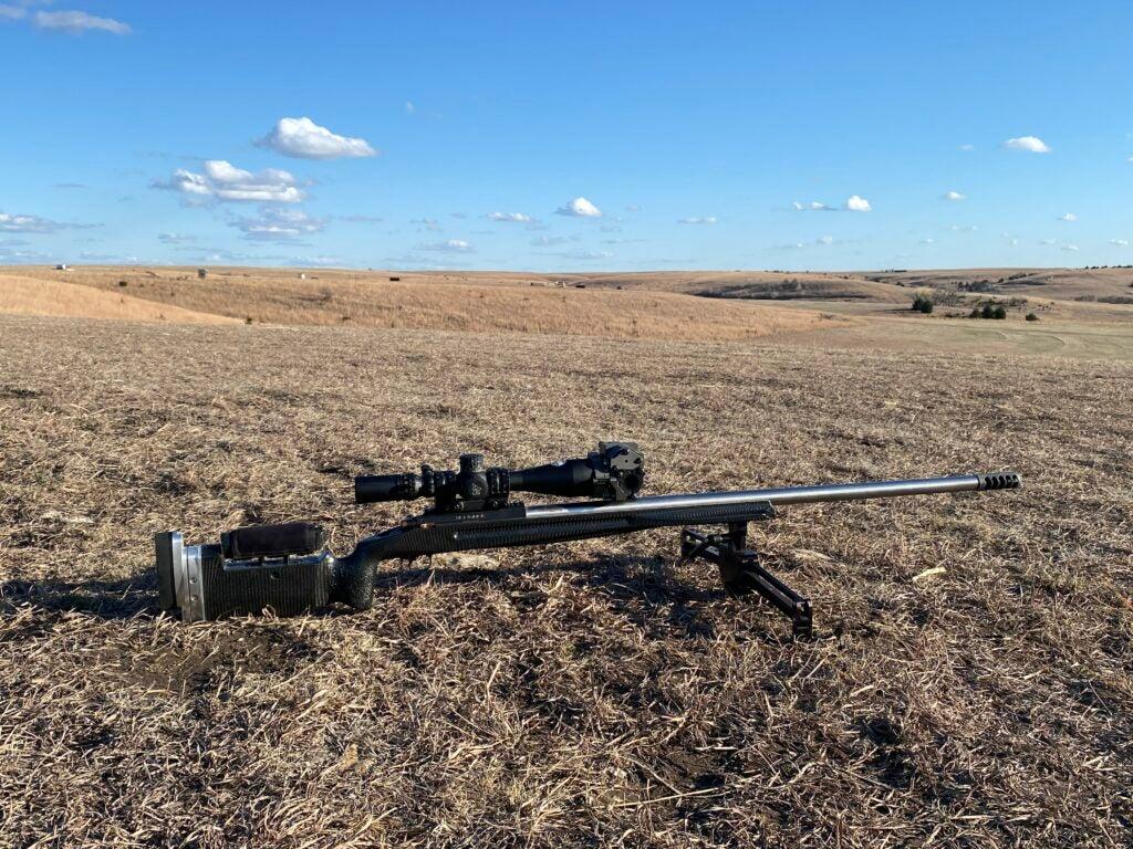 world record 33XC rifle for 4,137 yard ELR Shot