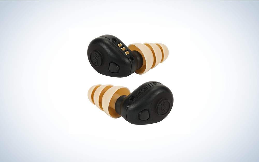 black and brown earphones are the best shooting ear protection