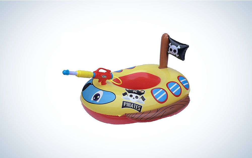 Colorful pool float for kids