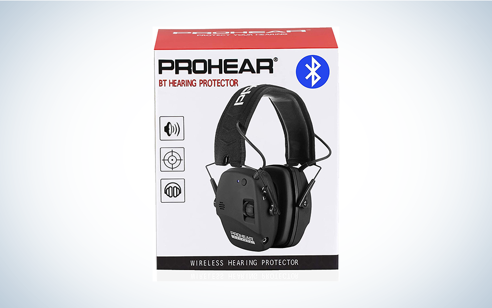 black earmuffs for hearing protection