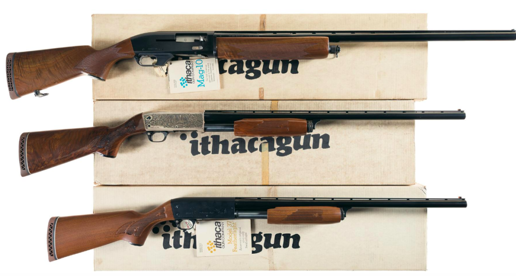The Ithaca Mag-10 popularized the 3.5-inch 10-gauge autoloader.