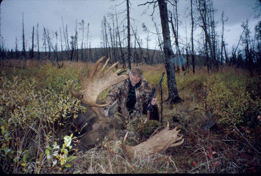 Marlin moose rifle