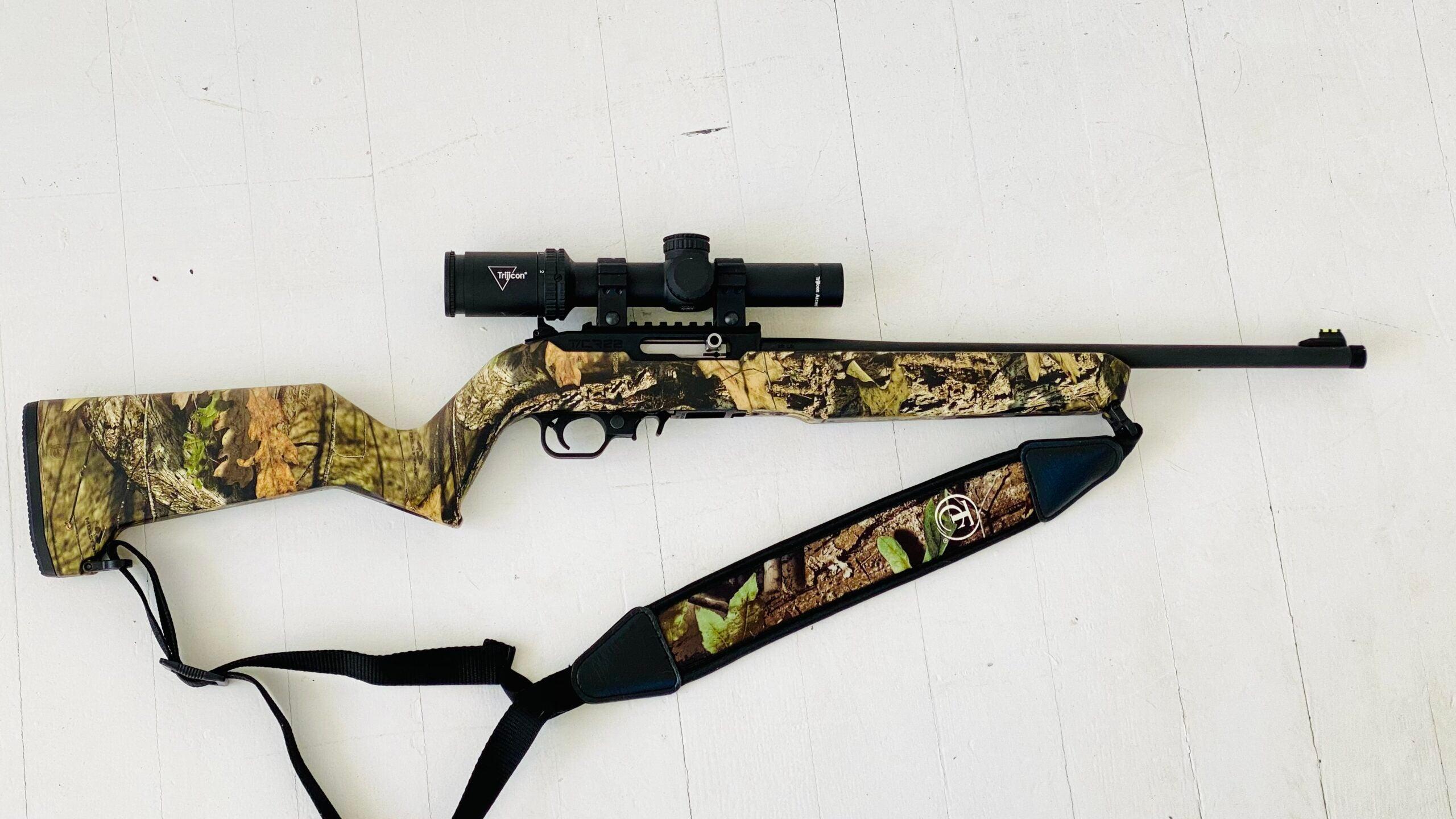 thompson center rimfire 22lr tcr22 rifle