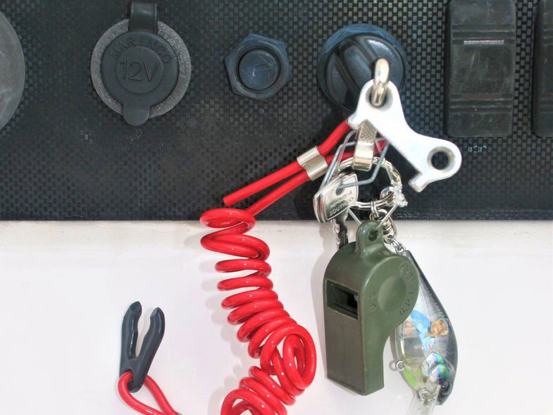 A kill switch or Engine Cut-Off Switch.