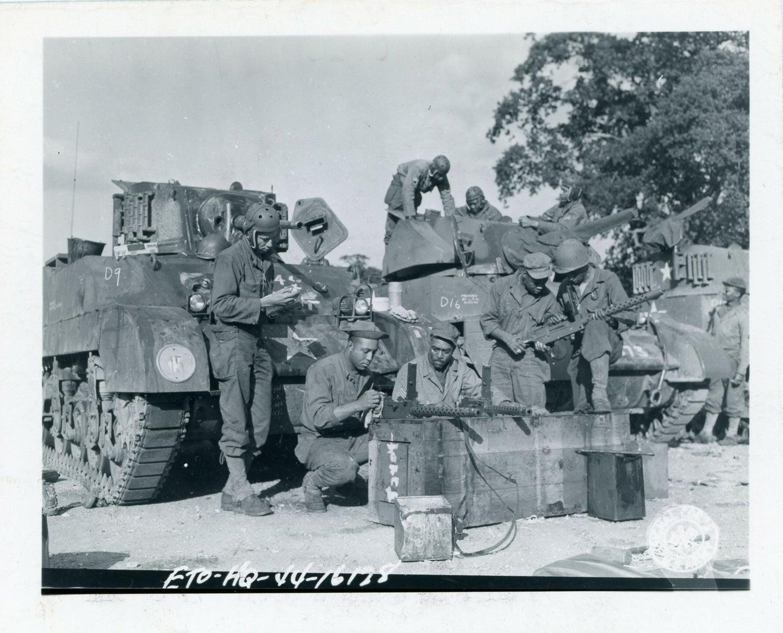 The 761st Medium Tank Bat