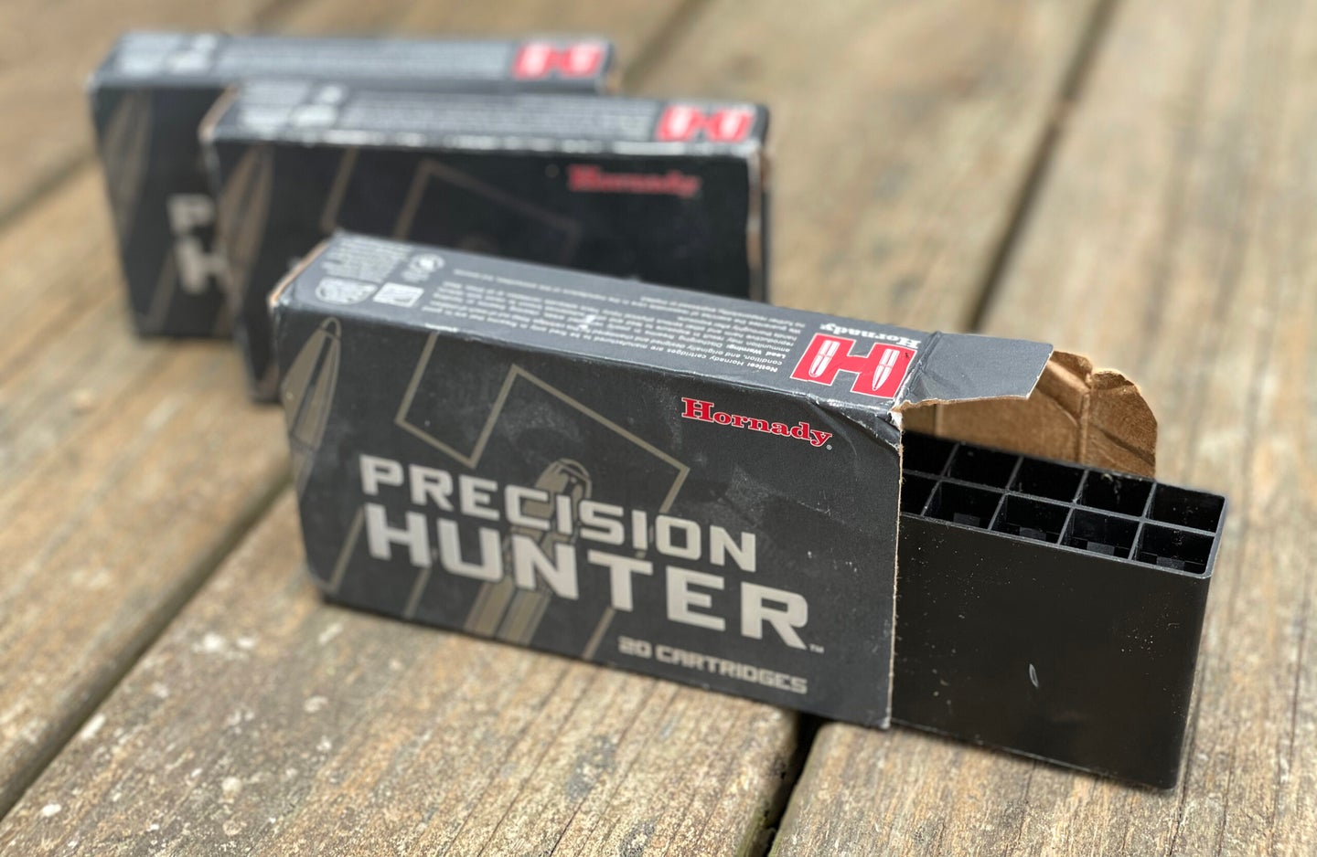 Empty boxes of ammo, and how not to get ripped off online.