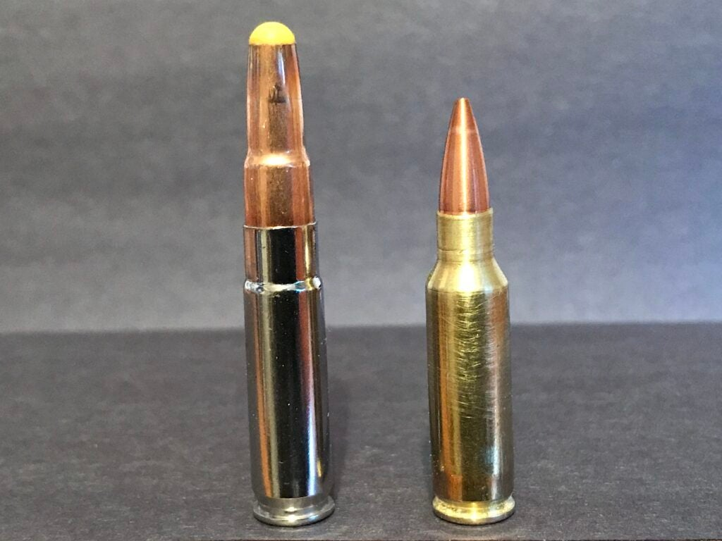 The .300 Blackout was another bullet born of the .222.
