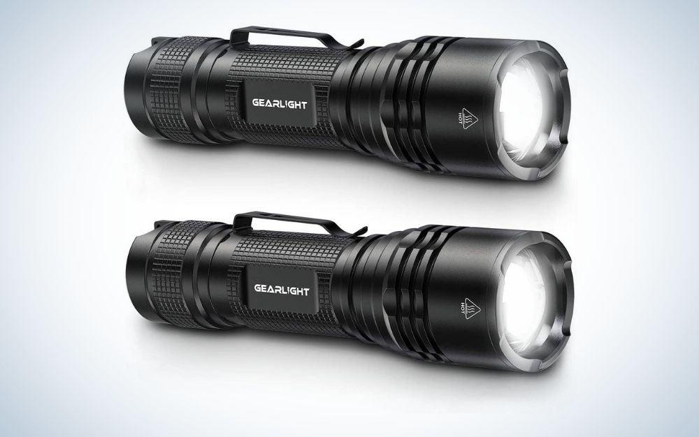Black Led camping lights