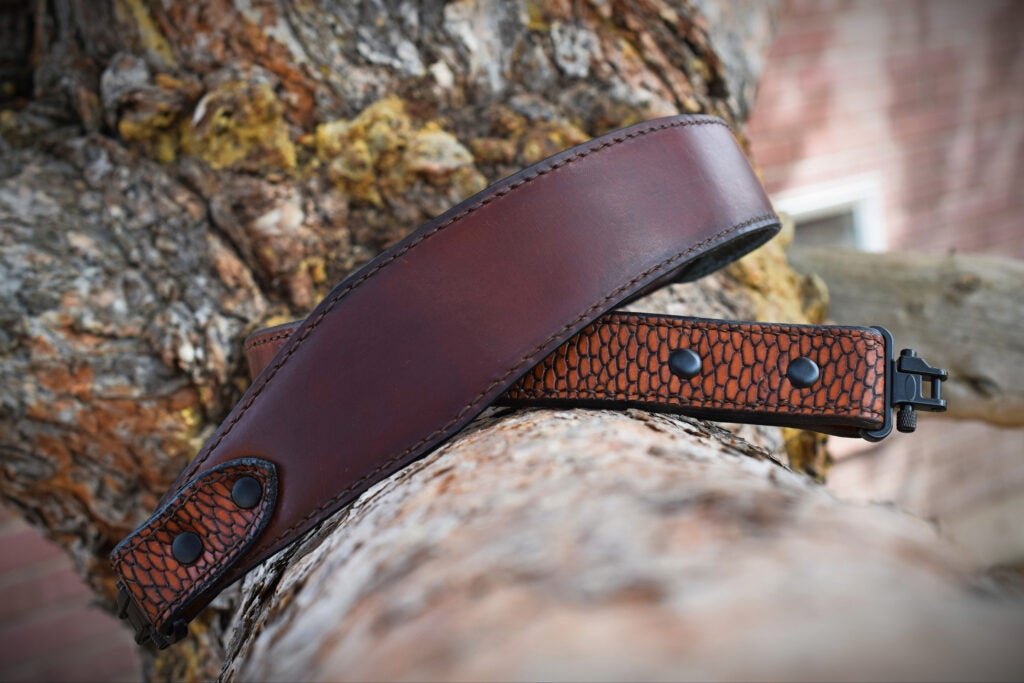 Teton Leather Company rifle sling.