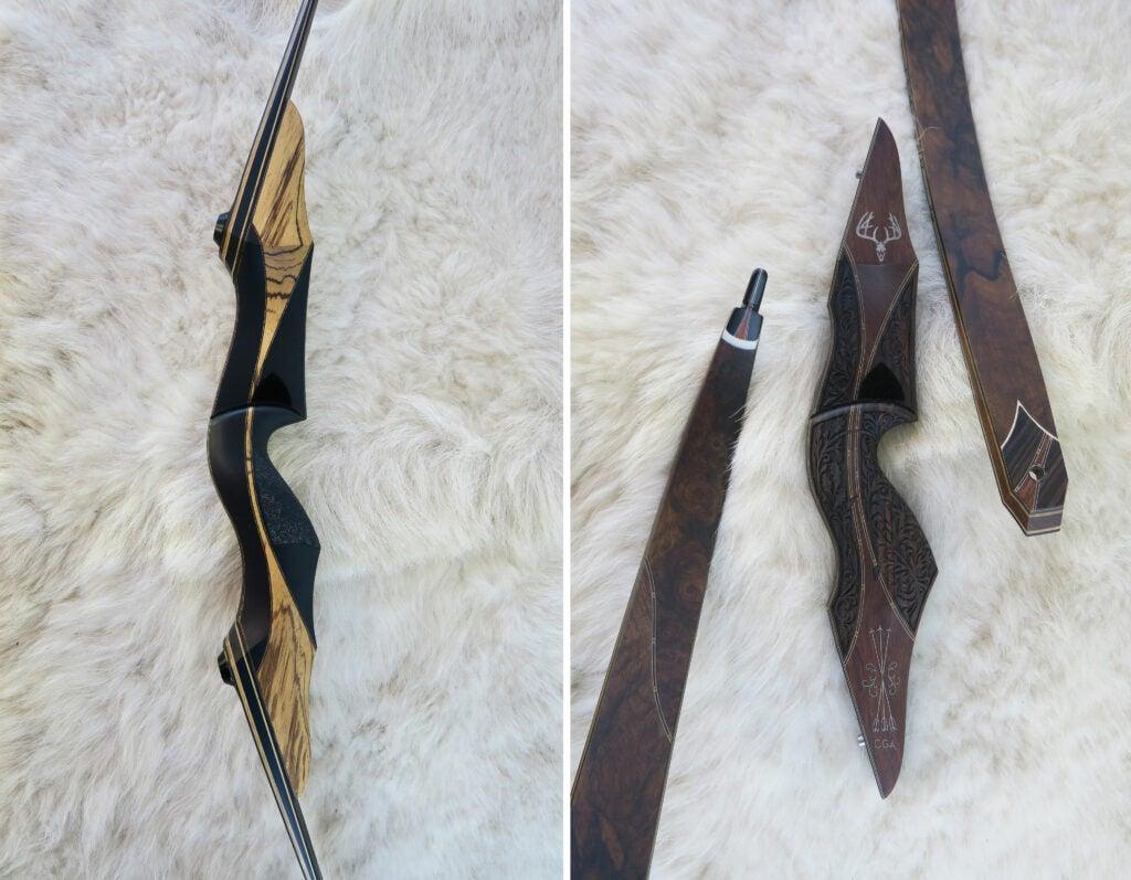 Trent Wengerd's bows.