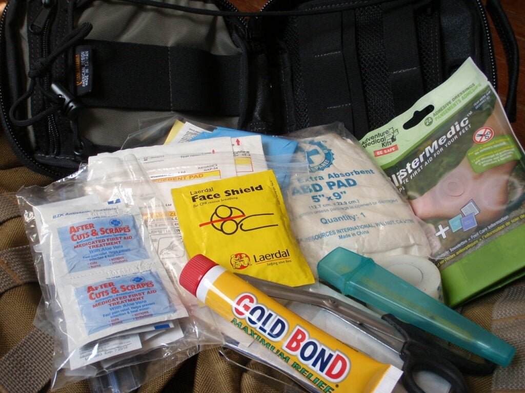 It's critical to know how to administer first-aid before a going afield.