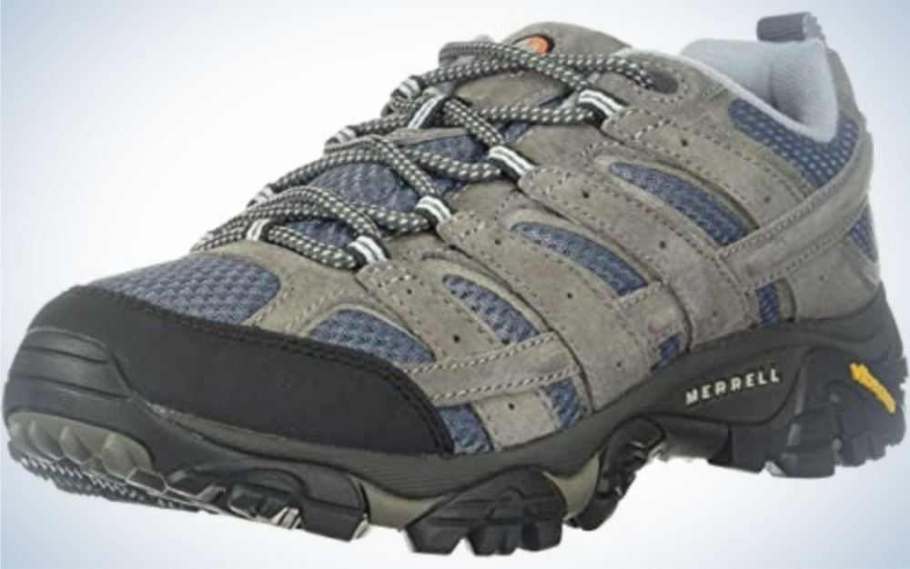 Merrell hiking shoes for women with wide feet