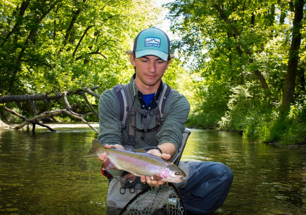 Don't be intimidated to get your start in fly fishing.
