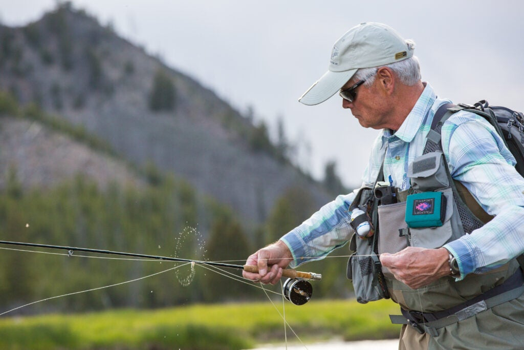 Fly Fishing on the Madison River.