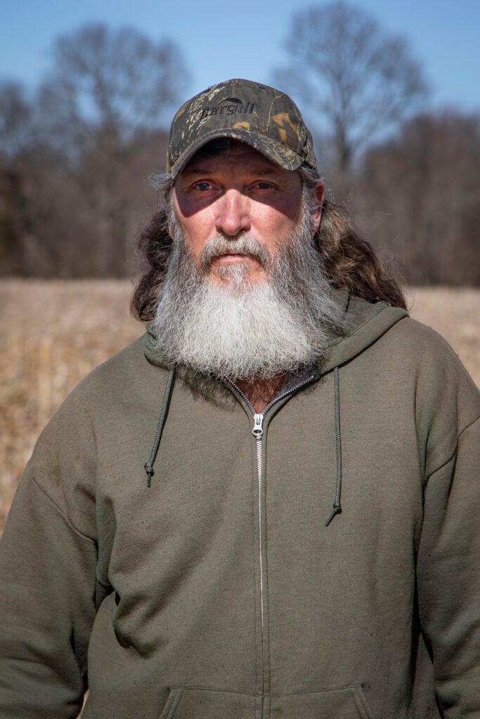 Portrait of Jeff Crabtree, witness to the Reelfoot Lake shooting.