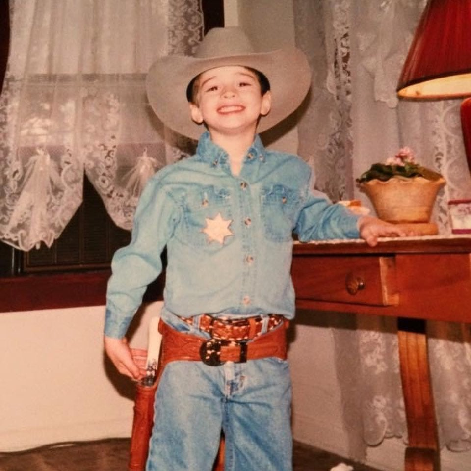 Chance Black, a Tennessee hunter as a kid.