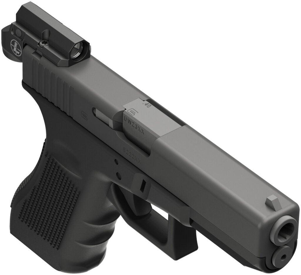 Leupold Delta Point Micro on Glock 23