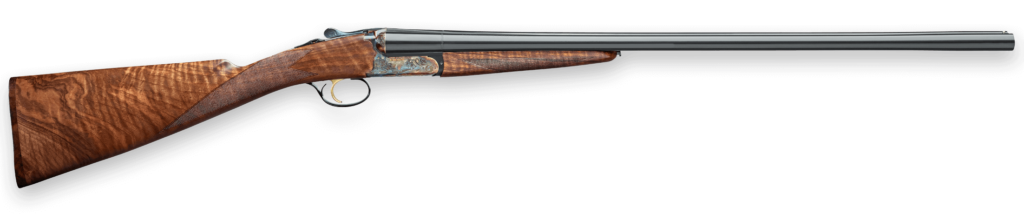 Fabarm's Autumn has an exquisite case-hardened receiver.