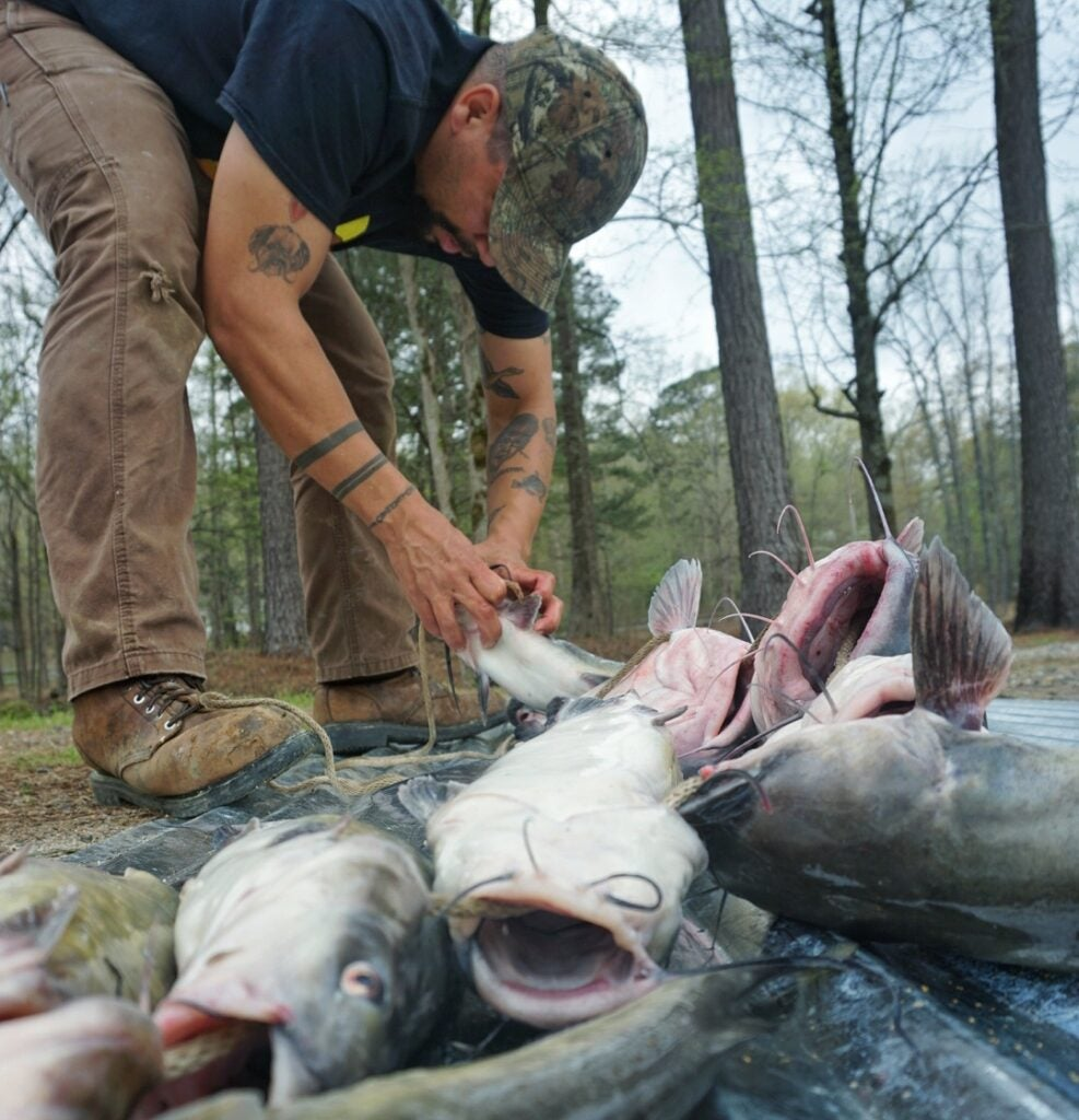 Catching catfish with hand-dug worms is an ode to competency.