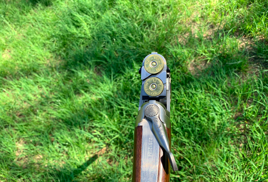 A look at the Mossberg Gold Reserve's action.