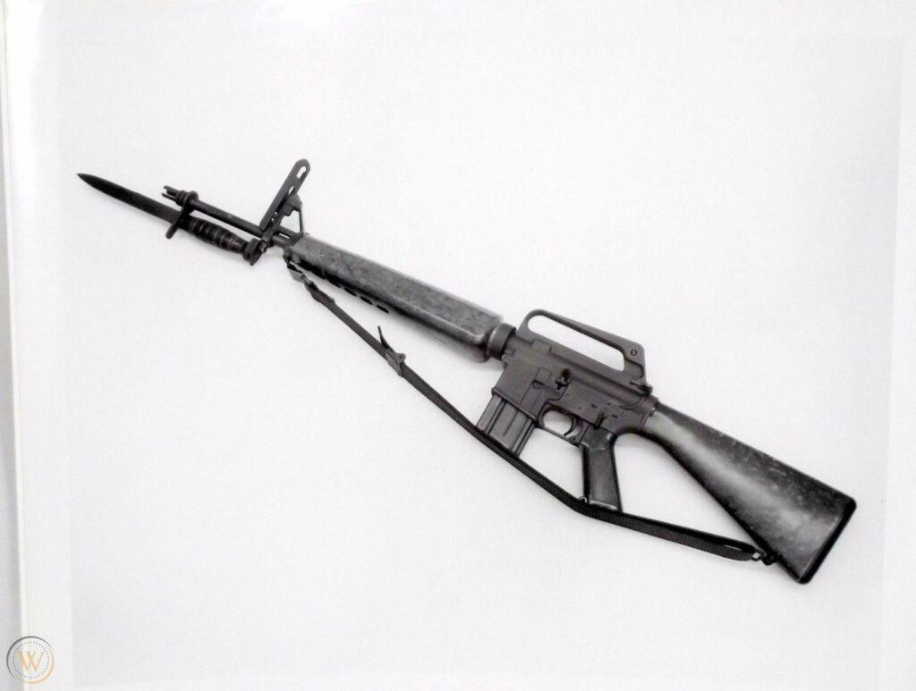 The Armalite AR-15.