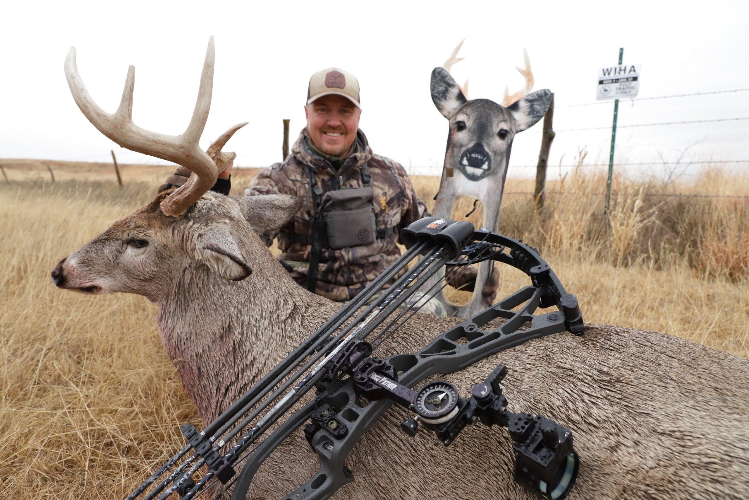 Use a decoy to get closer to big deer.