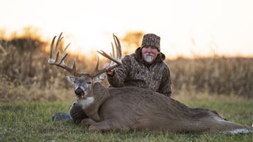 Don Higgins' buck from Illinois is one of the new state records.