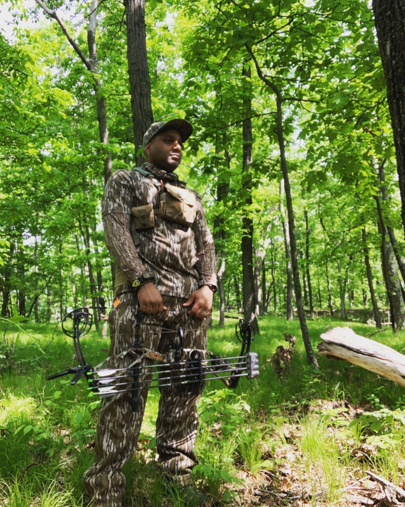 Bowhunting turkeys can be tough without a hunting mentor to help you.