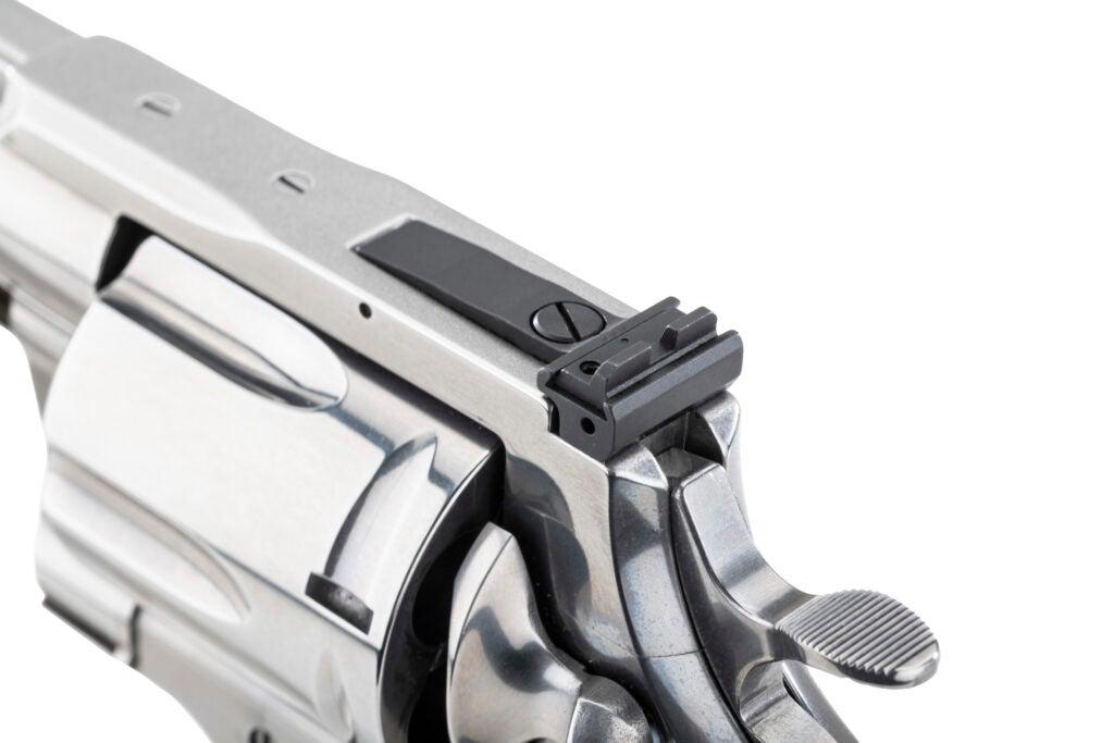 Colt Anaconda Revolver Adjustable Rear Sight