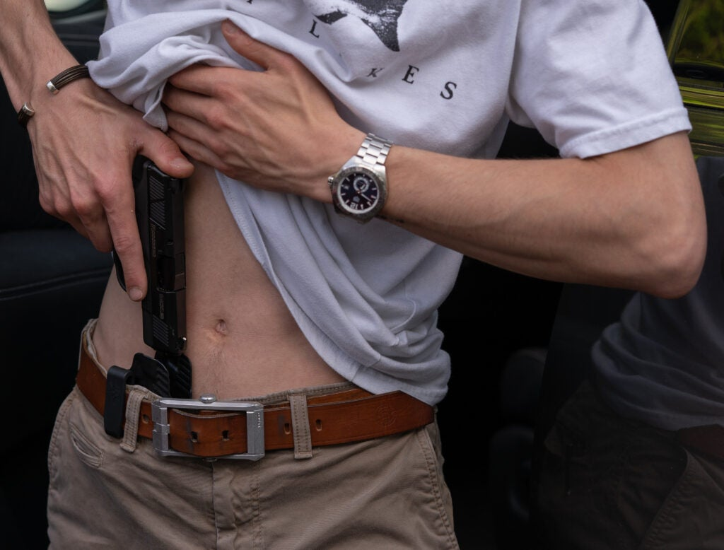 appendix carry concealment and speed handgun