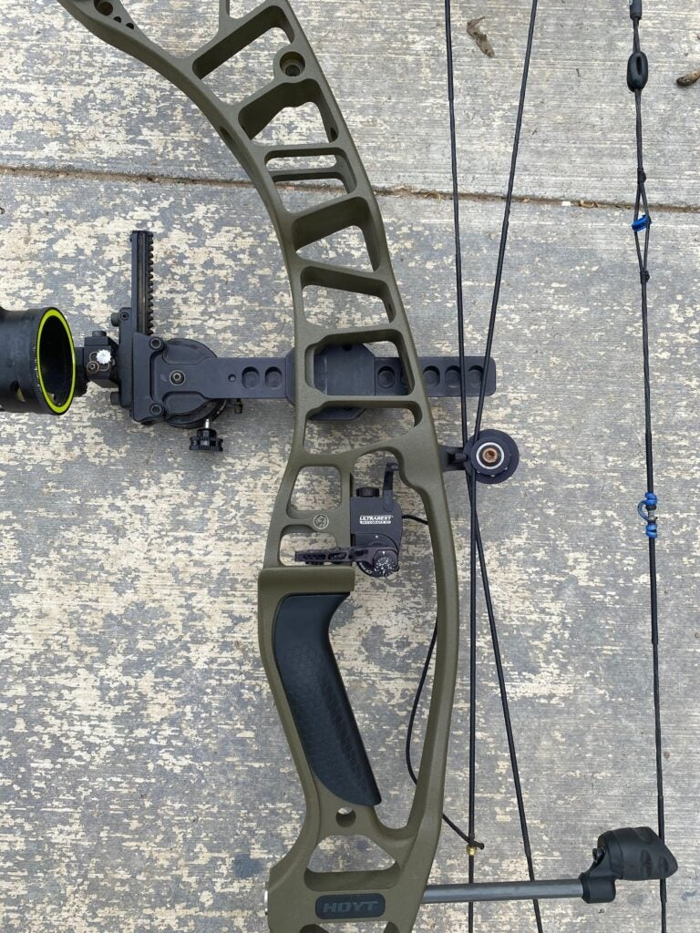 Parts of a compound bow include the bow riser