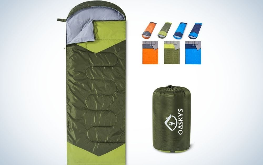 Best sleeping bag for camping in warm weather