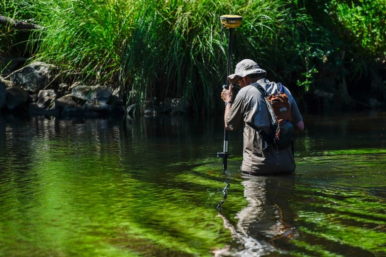 Air Force Opens Six More Miles of California's Dry Creek for Salmon and Steelhead Spawn