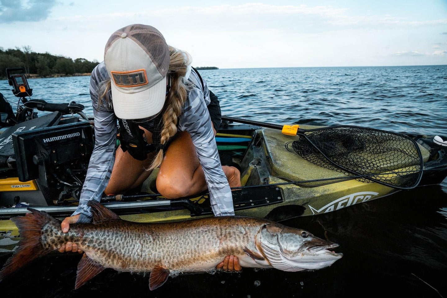 Change up your baits to catch more muskie.