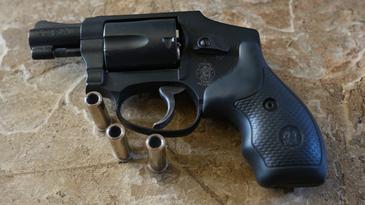 Smith and Wesson J Frame Revolver