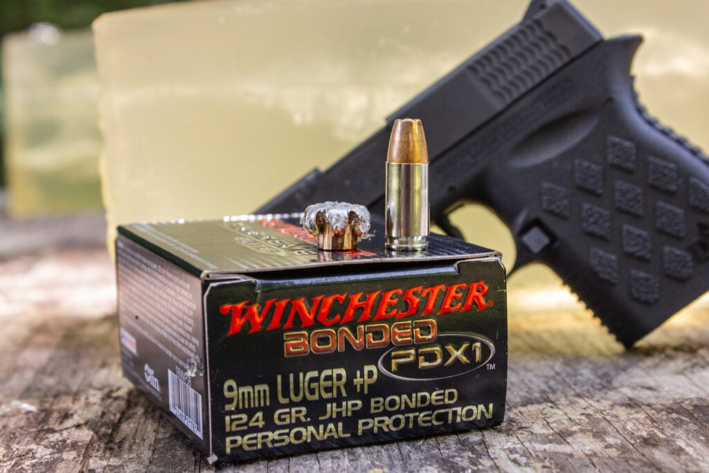Winchester PDX1 Bonded 9mm +P Ammo