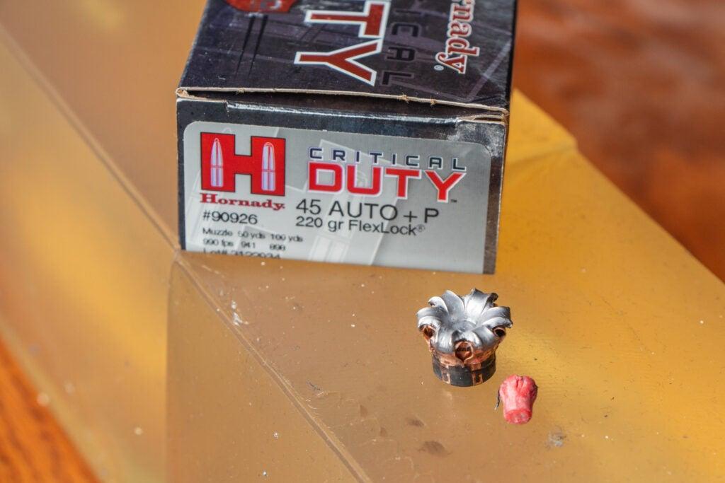 45 ACP +P Hornady Ammo