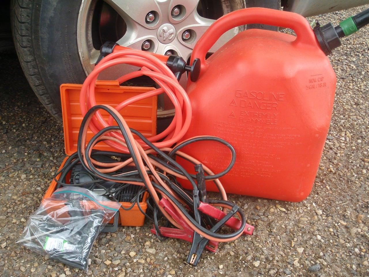 vehicle survival kit