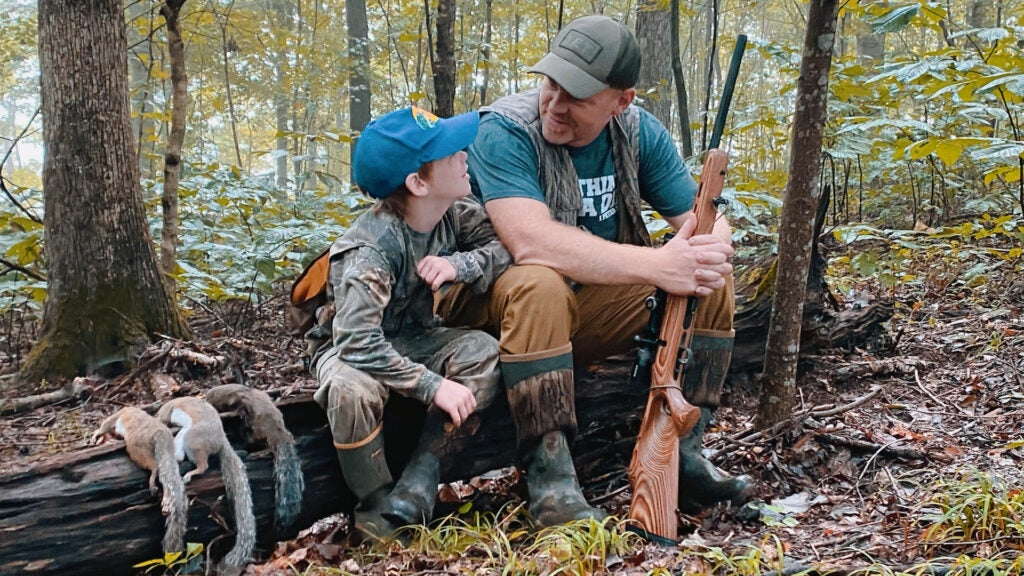 Spring is the perfect time to take a kid hunting.