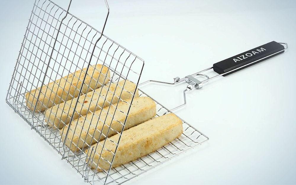 Prime day deals on a grilling basket