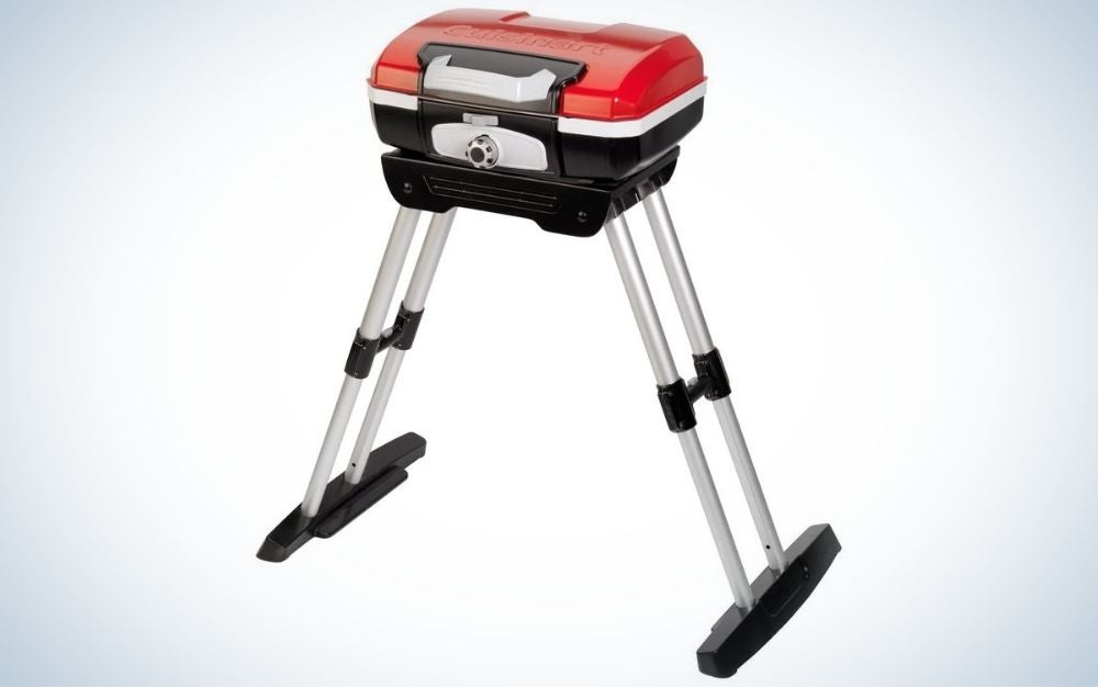 Gourmet Gas steel grill with versa stand prime day deal