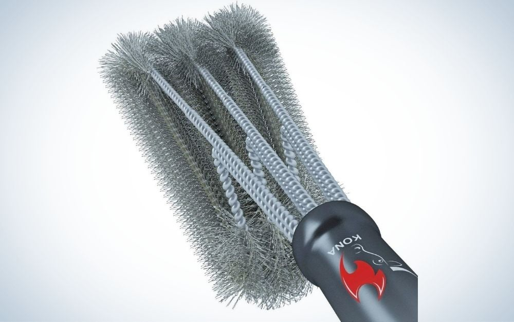 Stainless steel grill brush cleaner prime day deal